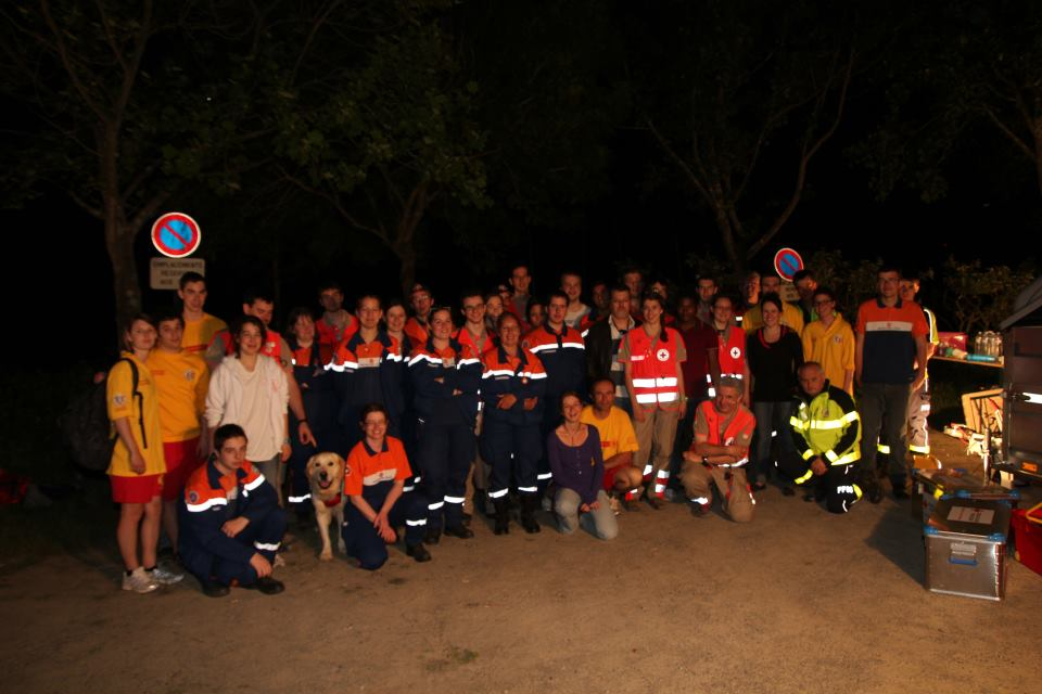 Exercice secourisme inter-associatif (25 juin 2012)