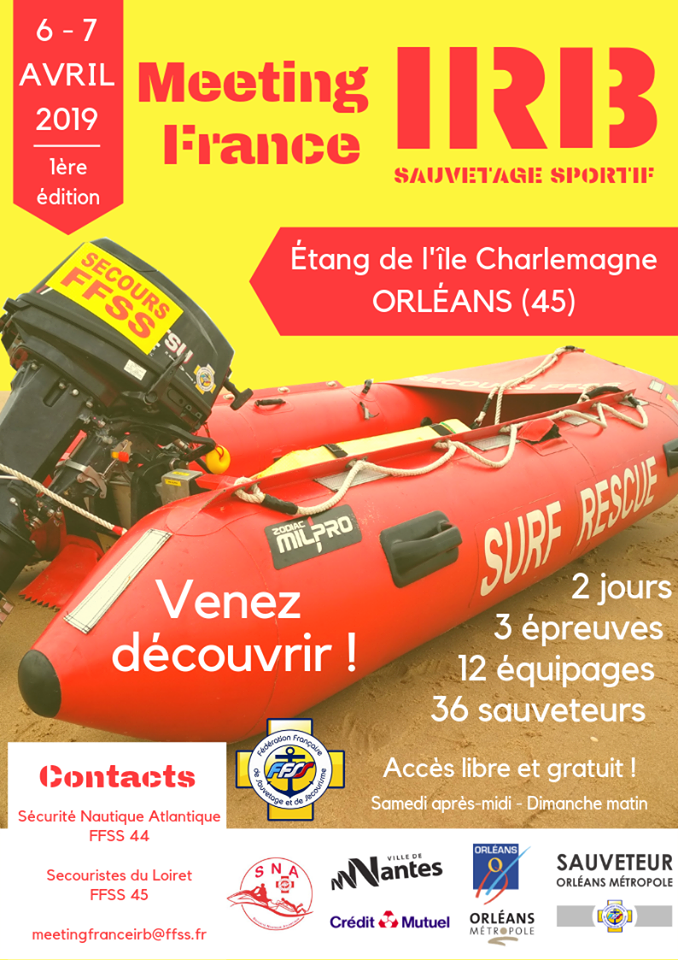 Affiche Meeting IRB France 2019