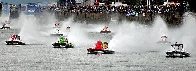 Course motonautiques