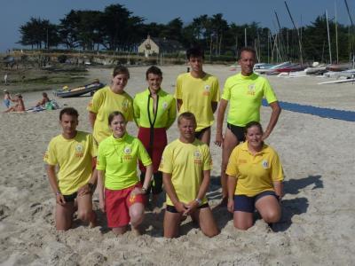 Equipe plage FFSS