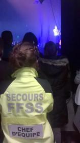 Secouriste concert
